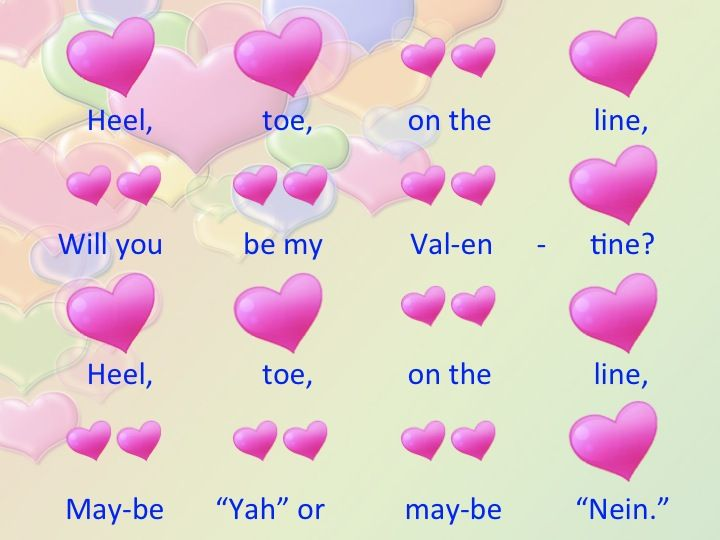 valentine song quotes