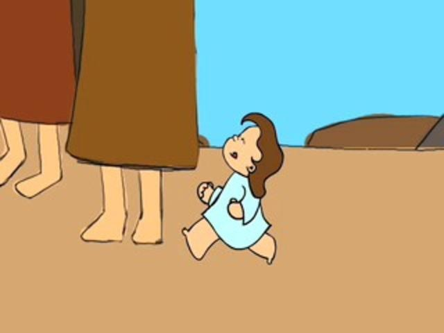 Fish And Loaves by Kristen Miller. Animated bible story of Matthew 14:14, when Jesus feeds the 5,000