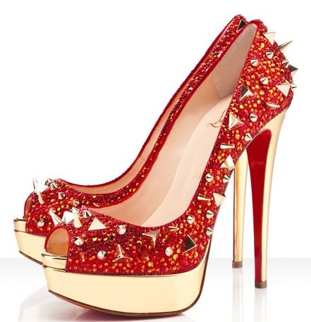 Christian Louboutin Very Mix Red Pumps Red Bottom Shoes