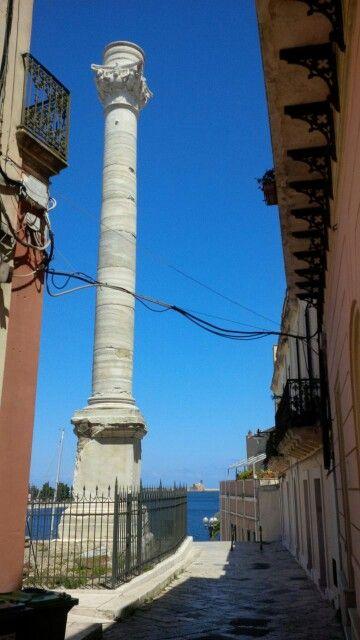 porto di brindisi | Giurdignan - colonna romana