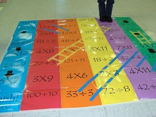 """Engaging Minds, Inspiring Discovery~ """"Mistakes are proof that you are trying."""": Fun Way To Practice Multiplication and Division Facts"""