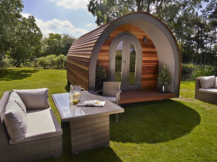 The Retreat Pod designed by Bayswater Interiors for www.gardenhideouts.co.uk