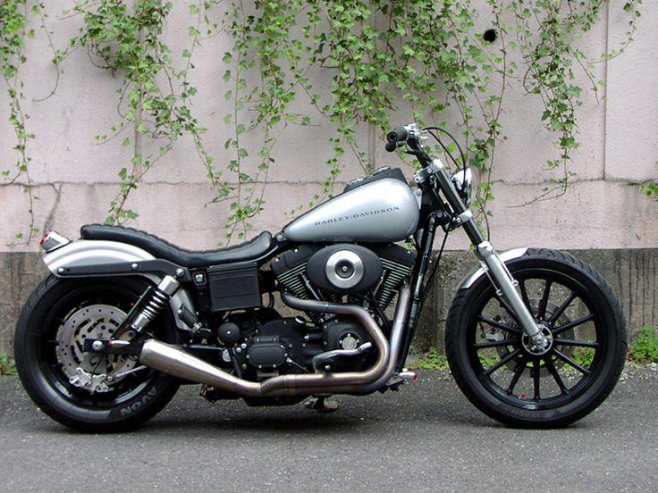Harley Davidson Dyna Super Glide Sport #trampcycle