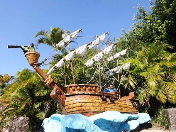 Diversão e aventura para toda família - Ilha dos Piratas