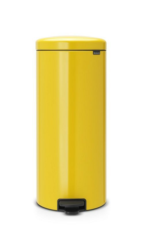 Brabantia newIcon Pedal Bin, 30L, Daisy Yellow