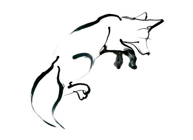 Lineart Wolf Tattoo : 28 best linedrawings images on pinterest fox tattoos foxes and