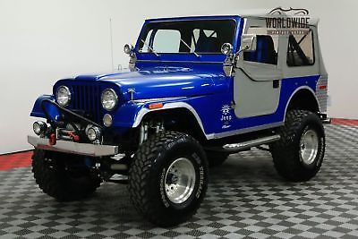 eBay: 1976 Jeep CJ LIFTED 4X4 AMC V8 HOLLEY FUEL INJECTION CALL 1-877-422-2940! FINANCING! WORLD WIDE SHIPPING.… #jeep #jeeplife