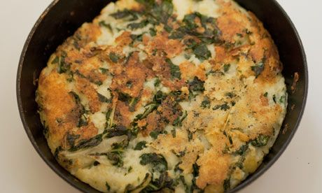 Buble & Squeak: The name refers to the appetising sound this stir-up of cooked potatoes and greens makes as it cooks.