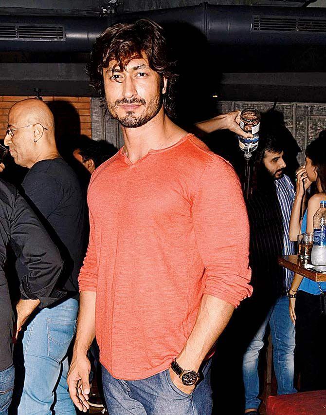 Vidyut Jamwal at Amit Sadh's birthday bash. #Bollywood #Fashion #Style #Handsome