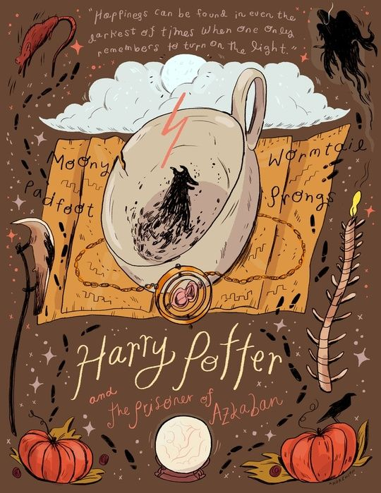 Harry Potter and the Prisoner of Azkaban by Natalie Andrewson