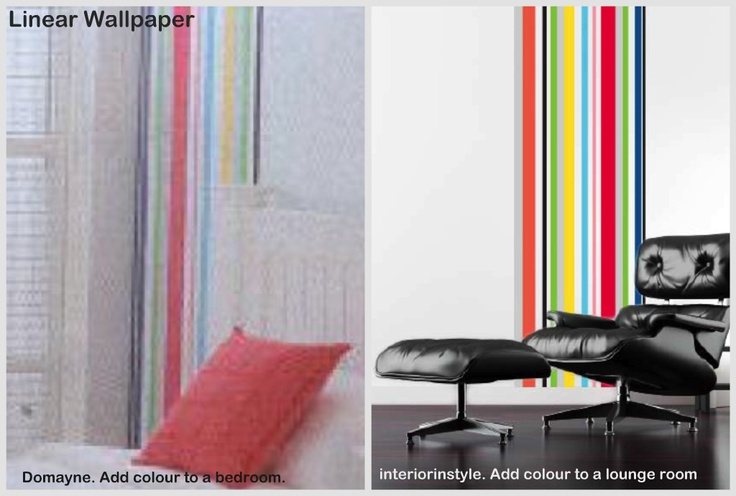 Like the striped Linear Wall paper