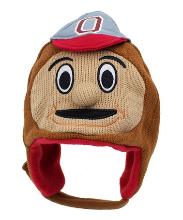 Take a look at this ZooZatZ Ohio State Mascot Earflap Beanie by ZooZatZ on #zulily today!