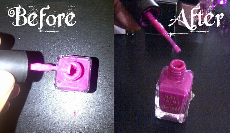 To Make Nail Polish Thinner | Prodotti per Estetico