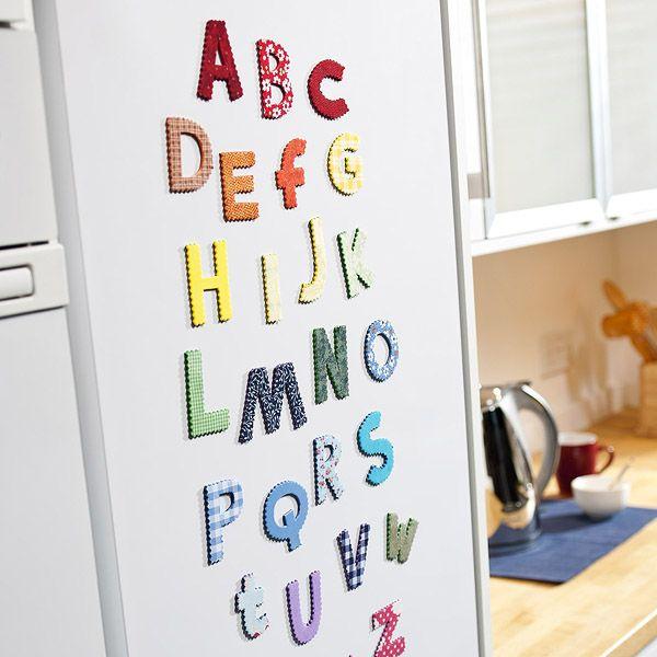 Hobby Craft Ideas Kids Part - 25: Fridge Magnets, Magnets, Alphabet, Alphabets, Alphabet Magnets, Fabric  Magnets, Magnets. Craft KidsKids ...