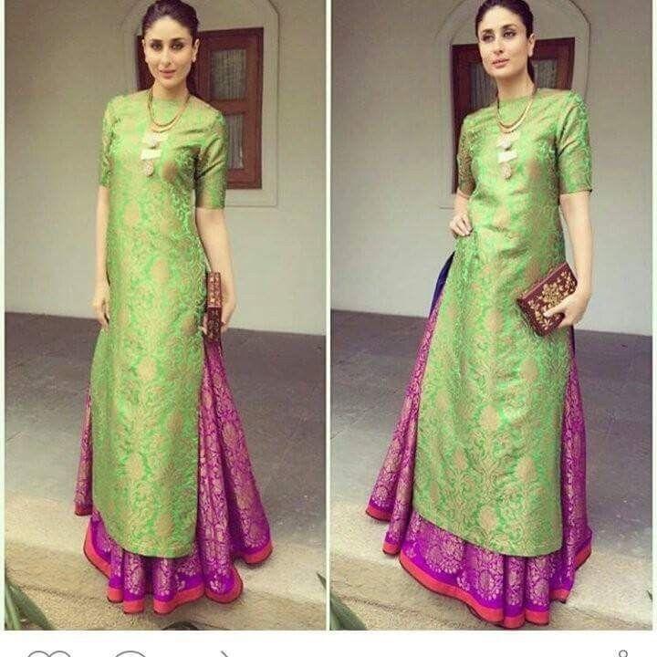Punjabi Bollywood Designer Indian silk SALWAR KAMEEZ pakistani lehenga suit #Handmade #SalwarKameez