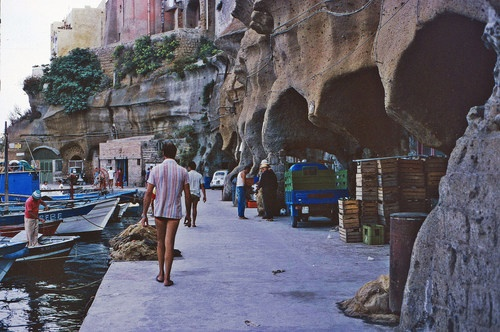 Ventotene, Italia.  The island where my great grandma lived.
