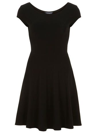 Tall black bardot dress - Dresses  - Clothing $28 amber?