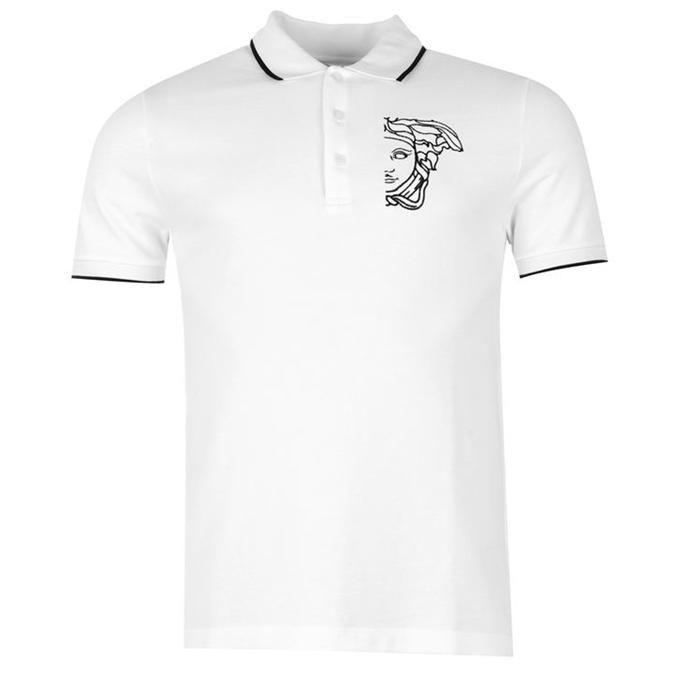 Versace | Versace Men's Plain Polo Shirt | Men's Polo Shirts