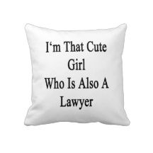 LOL Lawyer pillow