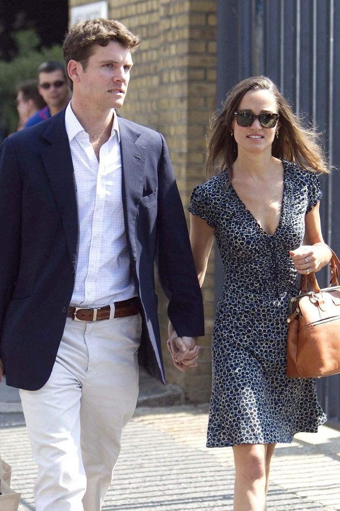 July 4, 2011  Pippa Middleton - Pippa Middleton and Alex Loudon at Lords Cricket Ground