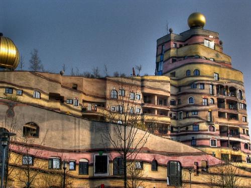 Panoramio - Photo of Darmstadt - Hundertwasser-Haus