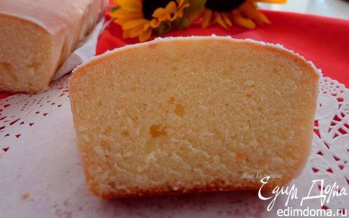 Лимоный кекс в лимонной глазури | Кулинарные рецепты от «Едим дома!»