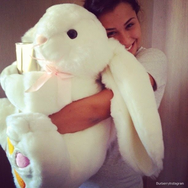 Everyone is getting boyfriends and girlfriend I mean I talked to a guy and hugged him he probably thinks I'm weird I always have stuffed animals! ~ Cait