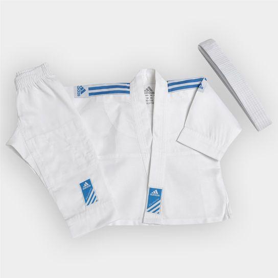 Kimono Adidas Judô Infantil - Branco