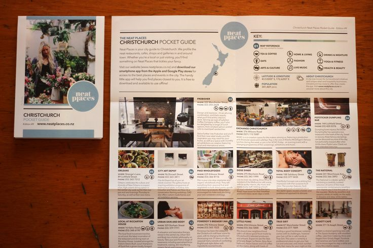 Neat Places Christchurch Pocket Guide Edition #9