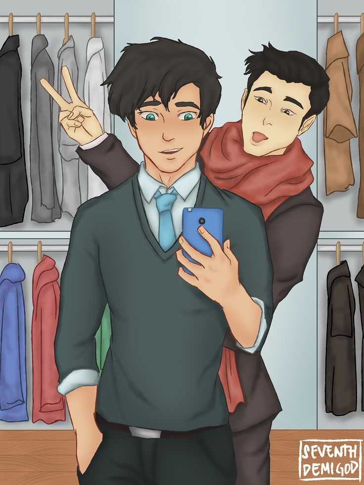The beautiful Percy Jackson and the cinnamon roll Frank Zhang