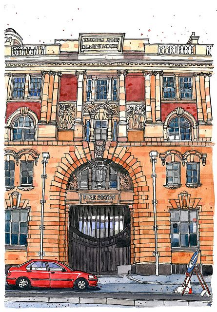 London Road Fire Station, Manchester | Flickr - Photo Sharing!