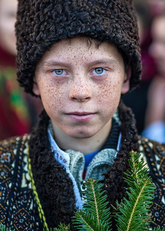 Little boy in Bucovina