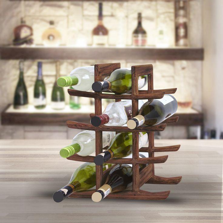 Rak botol Oriental sangat cocok untuk menampung dua belas botol anggur, atau minuman kemasan lainnya yang disimpan di tempat yang kecil. Elemen horisontal yang ramping membuat rak botol ini memiliki unsur bergaya Jepang, karenanya referensi Oriental, dan bentuk keseluruhannya mengingatkan kita pada Pagoda. Kayu yang digunakan adalah Jati, jadi Anda tahu bahan ini memiliki konstruksi yang kuat dan akan bertahan lama, dan warna coklat dengan finishing yang di pernis dengan gaya rustic. Simpan…