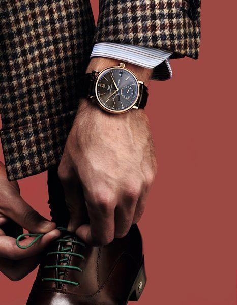 IWCPortofino hand-wound eight- days watch