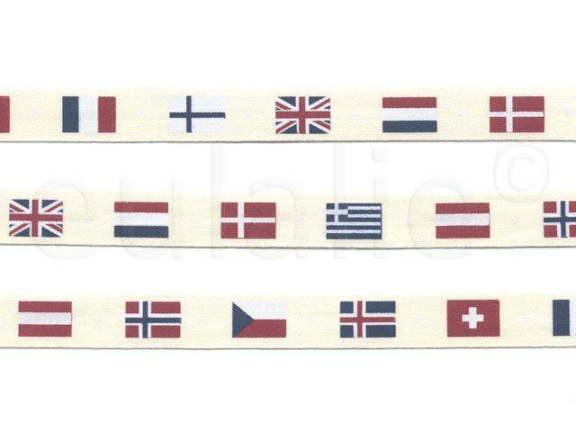    sierband vlaggen    Flags ribbon   
