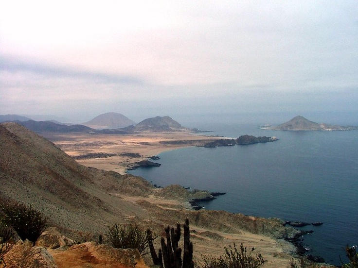 Chañaral, Chile. Playa and Isla de Pan Azucar (Photo: My own)