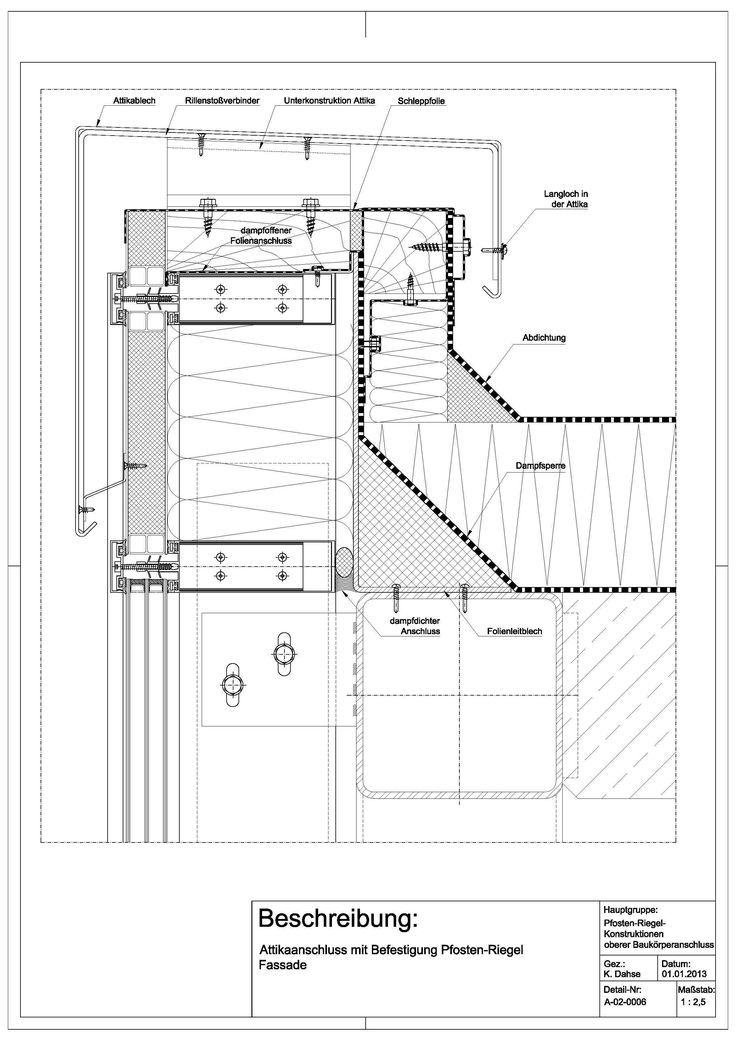 die besten 25 pfosten riegel fassade ideen auf pinterest flachdach aufbau fassadenschnitt. Black Bedroom Furniture Sets. Home Design Ideas