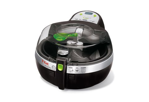 The Healthy Deep Fryer uses an exclusive continual motion-stirring paddle to achieve deep fried taste without all the fat. With one small spoonful of oil you can make over 2 pounds of French fries, chips, even Asian style stir-fry!