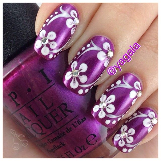 1178 best April showers bring may flowers nail art images on Pinterest