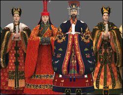 고려시대 왕가의 의복 Goryeo royal Family