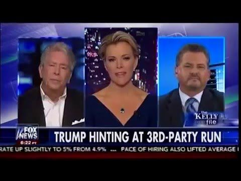 """Latest News on Donald Trump - Donald Trump Hinting At 3rd Party Run The Kelly File 2  """"  """"""""Subscribe Now to get DAILY WORLD HOT NEWS   Subscribe  us at: YouTube https://www.youtube.com/channel/UCycT3JzZbPLIIR-laJ1_wdQ  GooglePlus = http://ift.tt/1YbWSx2  http://ift.tt/1PVV8Cm   Facebook =  http://ift.tt/1UQVq5U  http://ift.tt/1YbWS0d   Website: http://ift.tt/1V8wypM  latest news on donald trump latest news on donald trump youtube latest news on donald trump golf course latest news on donald…"""