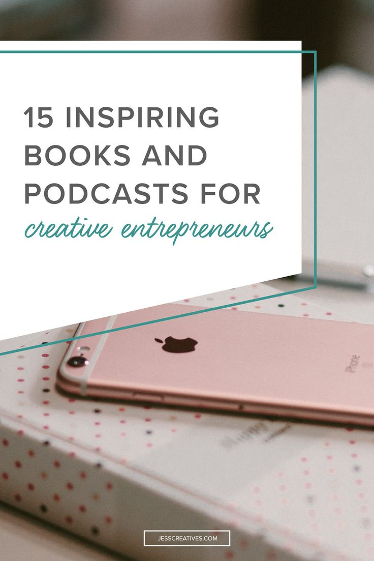 The great part of being an online entrepreneur is that it's so easy for us to connect with people from all over. While we can't exactly connect with every single person individually, it's easier than ever to learn from one another. In today's post, I wanted to share with you some of my favorite podcasts and books!