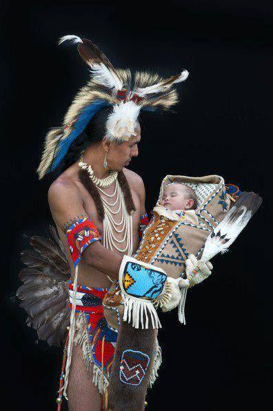 Beautiful Native Fatherhood!