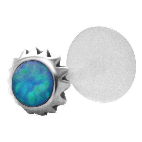 Sapphire Sun Labret Ring