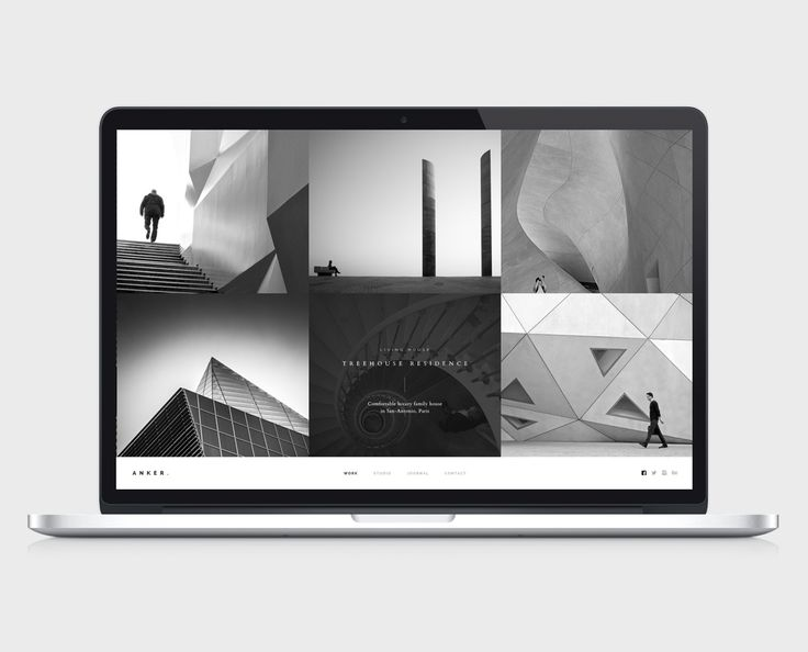 Clean and Modern Branding Project for ANKER Architecture Studio