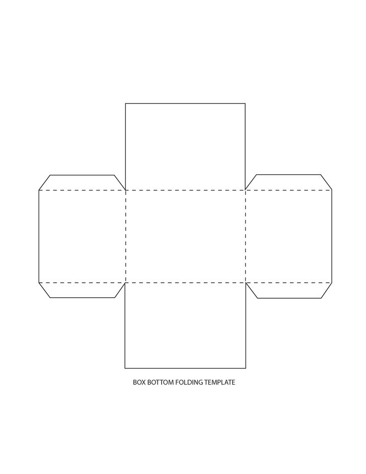 Persnickety image within printable box template