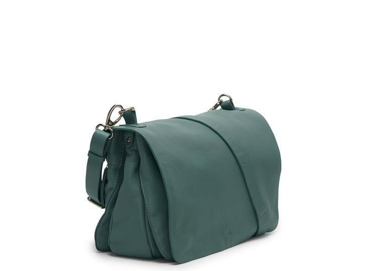 Mint colored leather bag by Adax. Price 349.90 EUR. Free delivery.