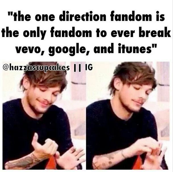Who runs the world? Directioners. oh hell yeah we do we can BEAK GOOGLE  please help me understand who else can do that