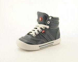 Skórzane Trampki granatowe, unisex. Emel Shoes E 1962-5