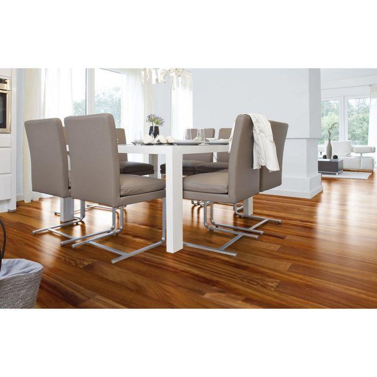 Parquet Iroko contrecollé - Trafic Best #wood #woodenfloor #parquet #home